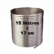 Serpentina Chopeira Cerveja Artesanal - Aluminio - 15 Metros x 17 cm