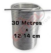 Serpentina Dupla Chopeira - Aluminio 30 Metros