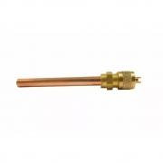 Válvula de Serviço 1/4 Solda 7cm c/ Scharader Suryha