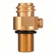 Válvula para Cilindro SodaStream Recarregável - Rosca 6ACME