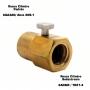 Adaptador Estação de Recarga para Cilindro CO2 - Rosca SodaStream x CGA320
