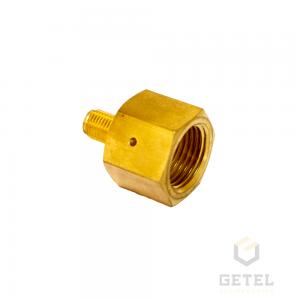 Adaptador - Redução - Rosca Fêmea ABNT 209-1 (CGA 320) X Rosca Macho 3/8-24UNF