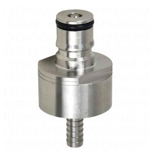 Carbonatador (Carbonator) em Inox p/ Garrafa Pet/Growler