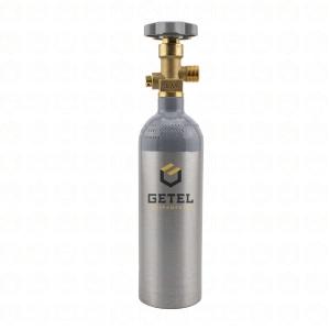Cilindro de Gás Carbônico CO2 - Aluminio - 0,6 KG