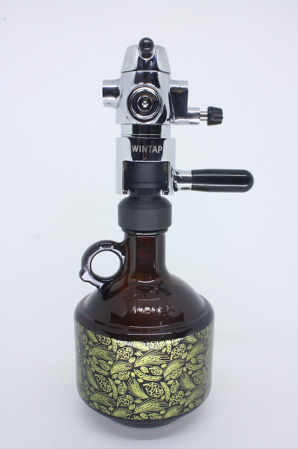 Adaptador Torneira Wintap - para Growler Bocal de Rosca 38mm My Growler