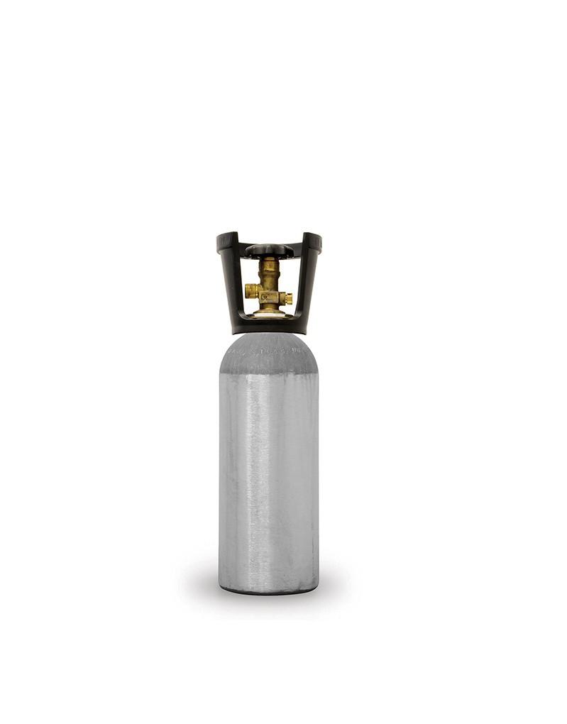Cilindro de CO2 em Aluminio - Gel Chopp - 2,3 Kg