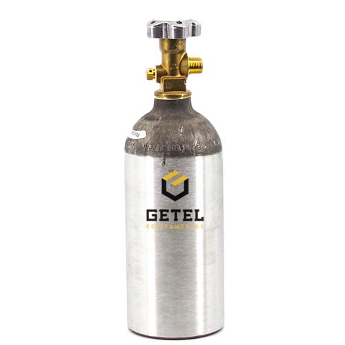 Cilindro de Gás Carbônico CO2 - Aluminio - 1,13 Kg