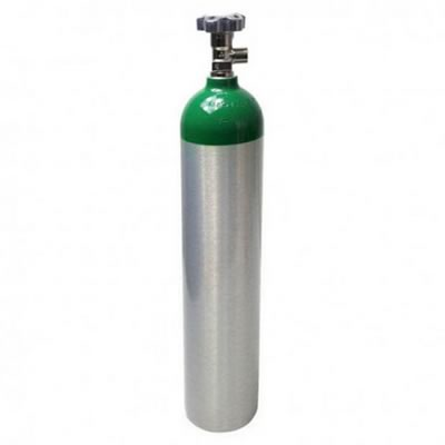Cilindro de Oxigênio O2 - Alumínio - 0,6 m3/4,6 L