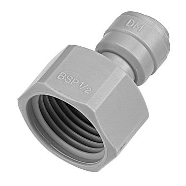 "DMFIT - Rosca Fêmea - (Tubo 5/16"" x Bsp 5/8"") - AFAB 0508F - Pacote 10 Unidades"