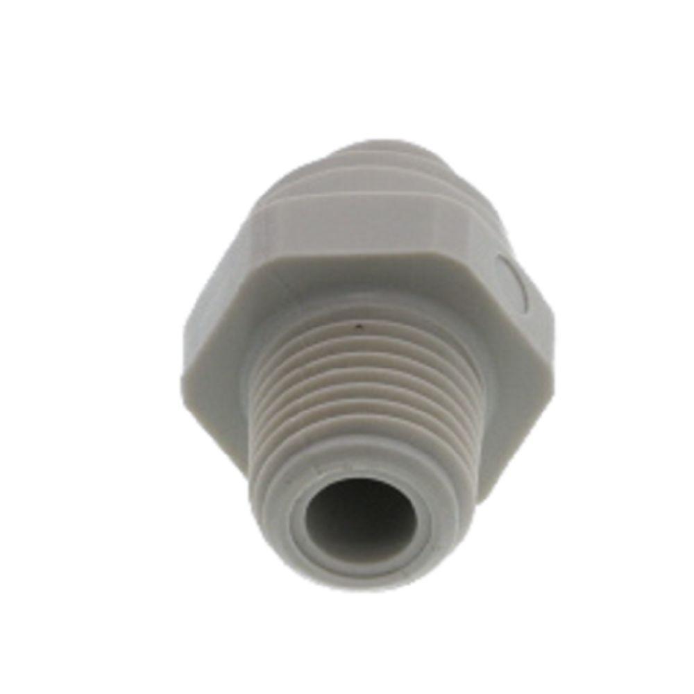 "DMFIT - Rosca Macho - (Tubo 5/16"" X Npt 1/4"") - AMC 0504 - Pacote 10 Unidades"