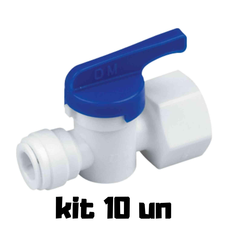 DMFIT - Válvula - (Manual - Tubo 3/8