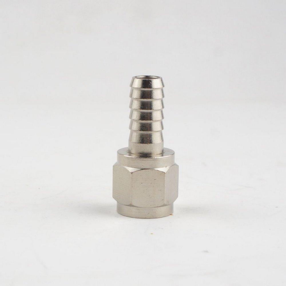 """Espigao 5/16"""" c/ rosca 7/16""""FL para conector Ball-Lock com rosca"""