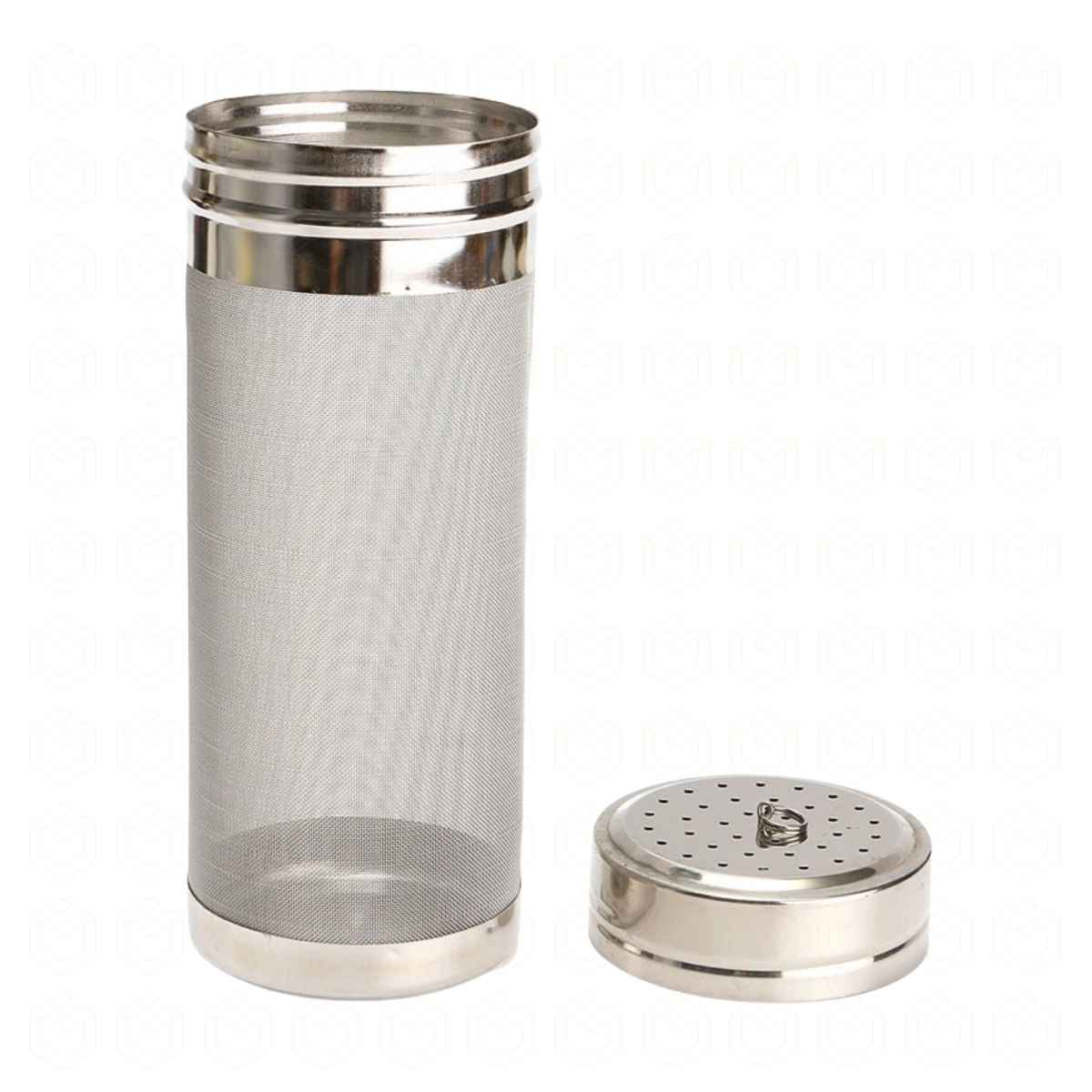 Filtro cilindrico c/ tampa, 300 micra, 70x180mm