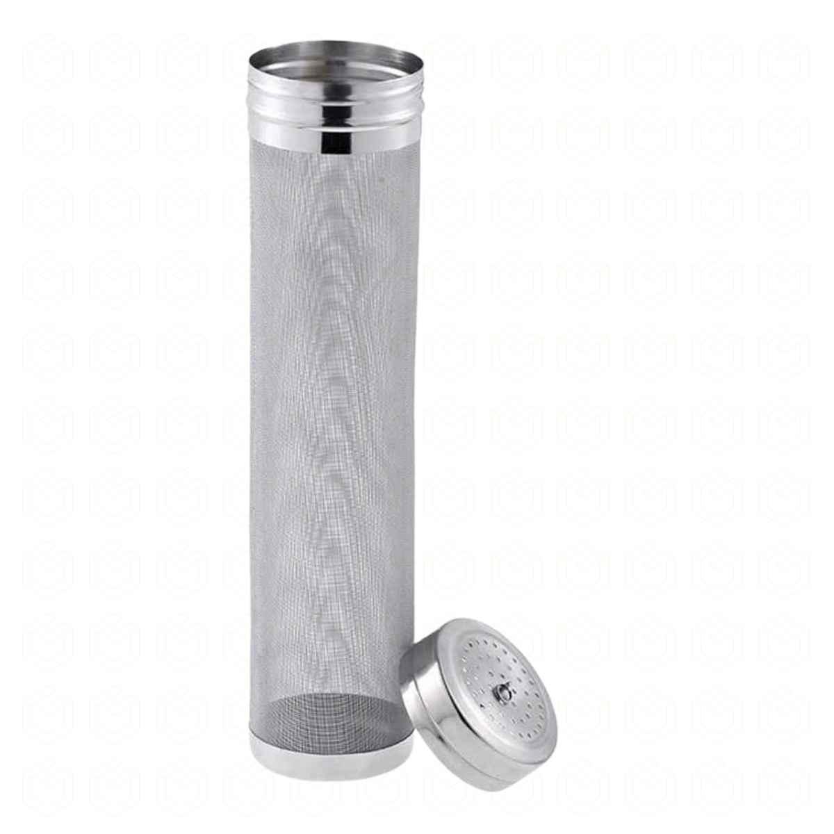 Filtro cilindrico c/ tampa, 300 micra, 70x300mm