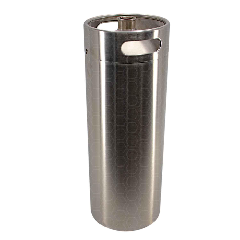 Growler (Barril) - Aço Inox - Capacidade 10 L - Sem Tampa