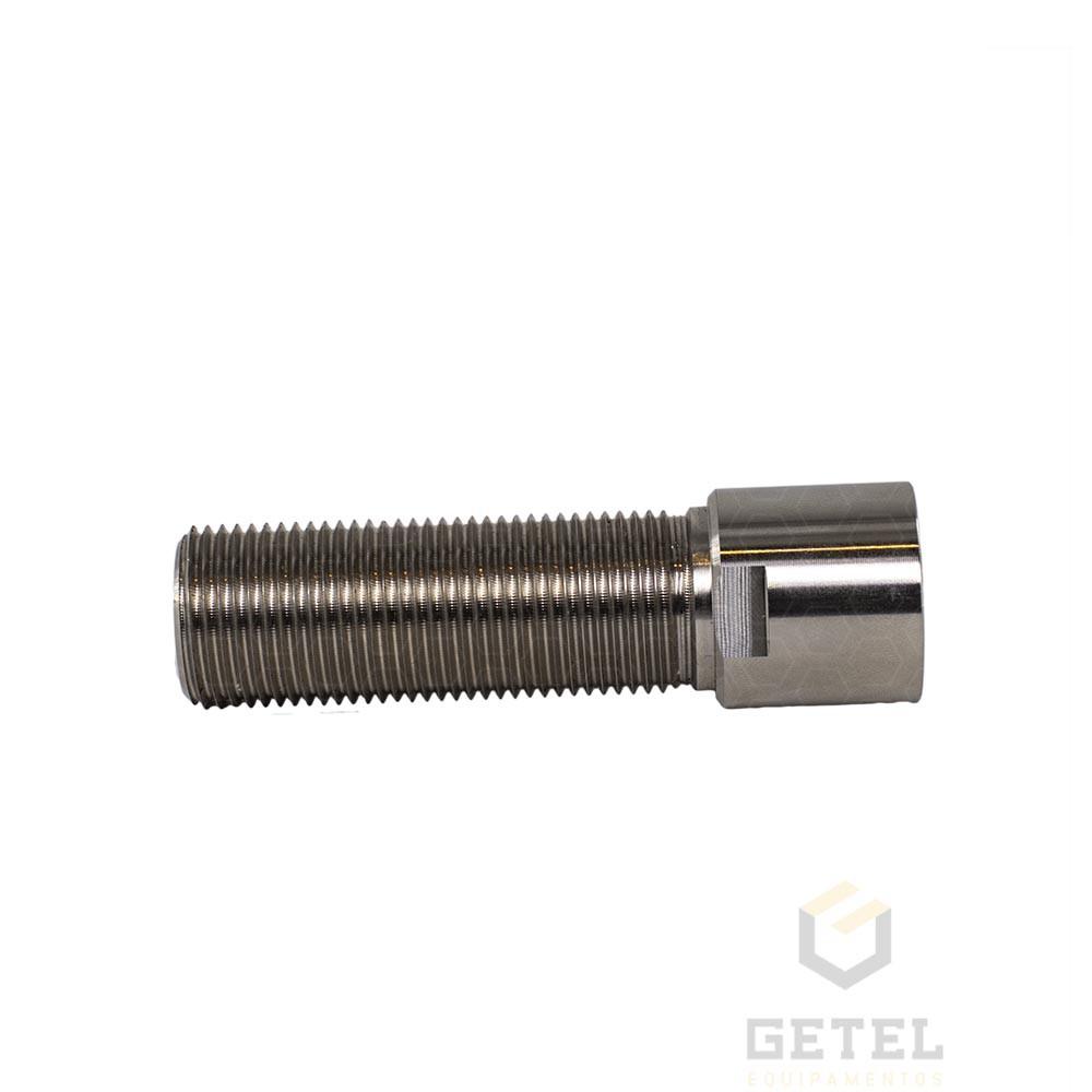 """Prolongador p/ Torneira de Chopp - Roca G5/8"""" X 09 cm - Sem Flange - Aço Inox"""