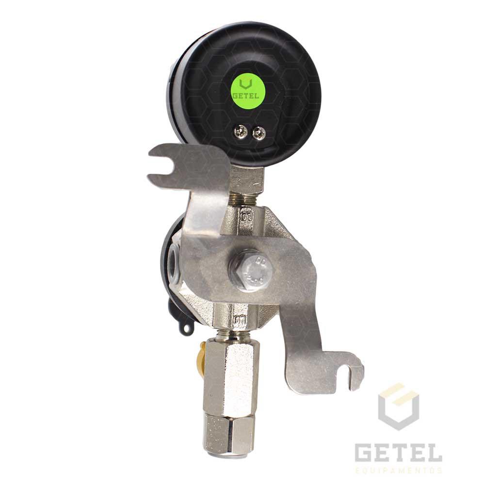 Regulador Segundo Estágio c/ Manômetro - TecFLO FLX930