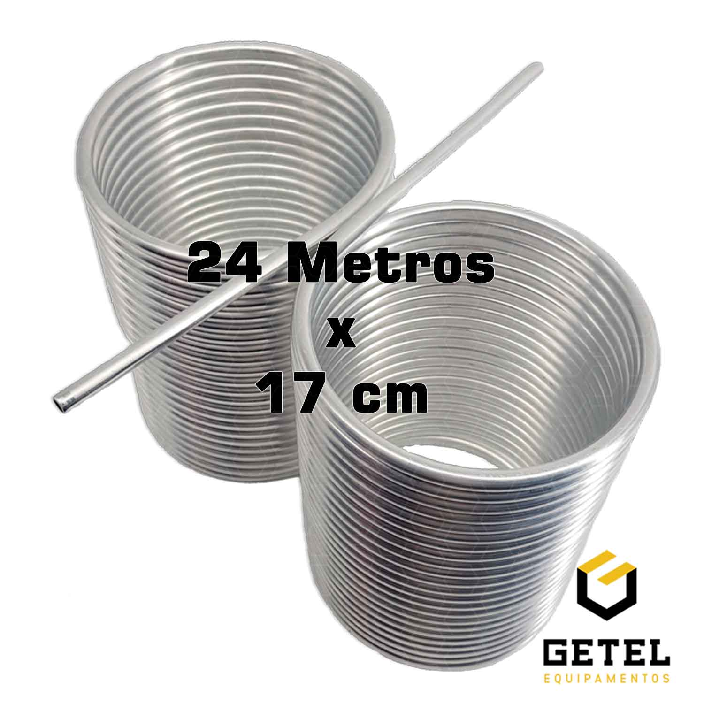 Serpentina 24 Metros - Calandragem dupla sem emendas