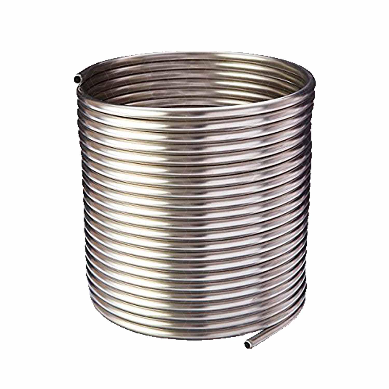 Serpentina para Chopeira - Aço Inox 304 - Espiral Simples