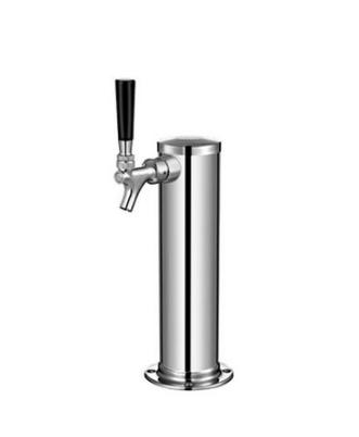 Torre de Cerveja tipo Coluna - 1 Via - Aço Inox