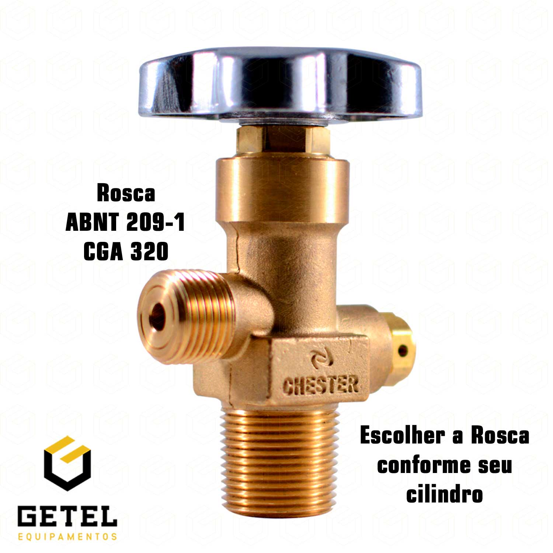 Válvula Abertura Lenta (ABL/TOPO) - CO2