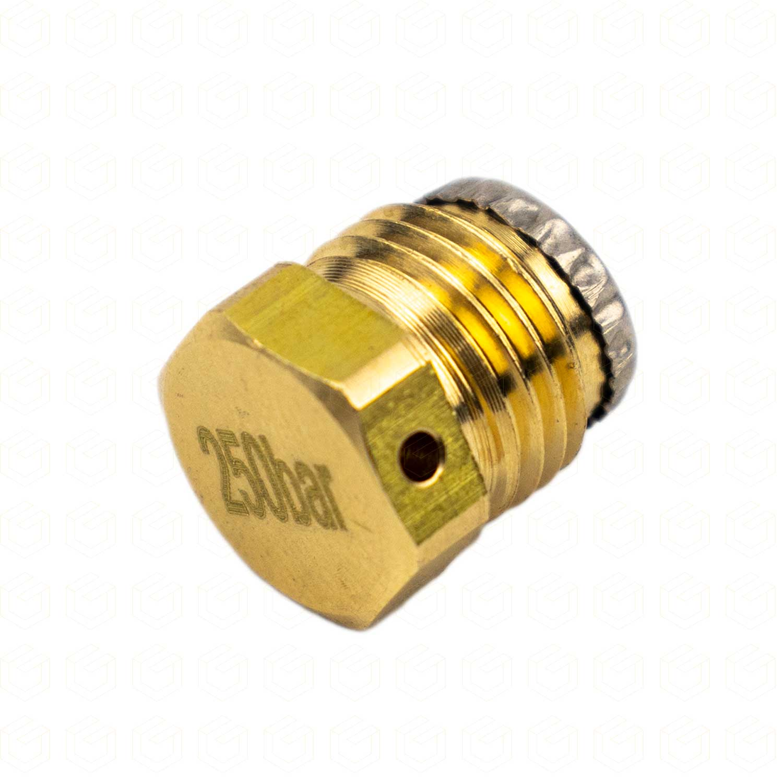 Válvula de Segurança para Cilindros SodaStream - 250Bar