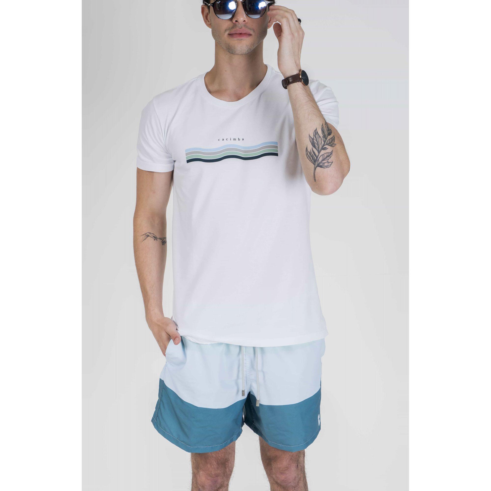 Camiseta Blue Waves