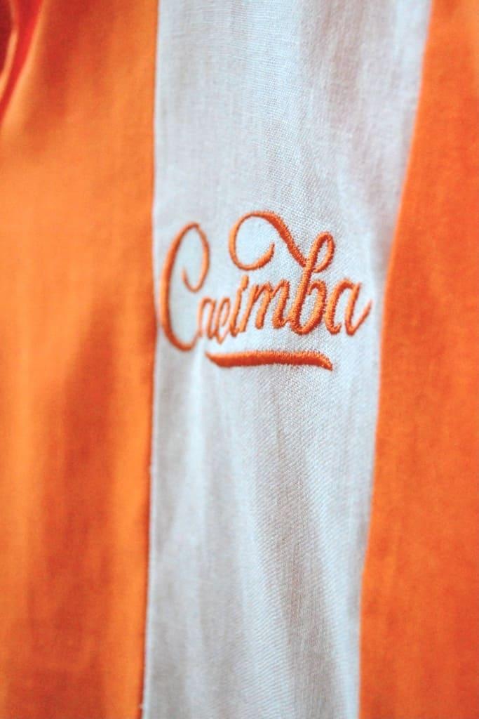 Camisa Cacimba Sereia - Laranja - 100% Linho