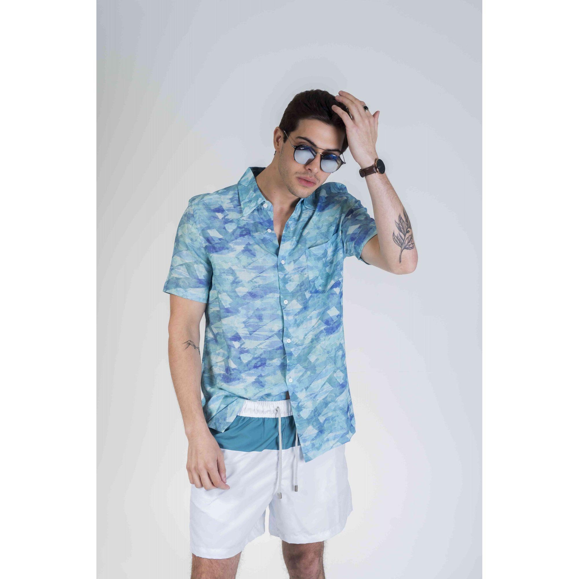 Camisa Water Colors