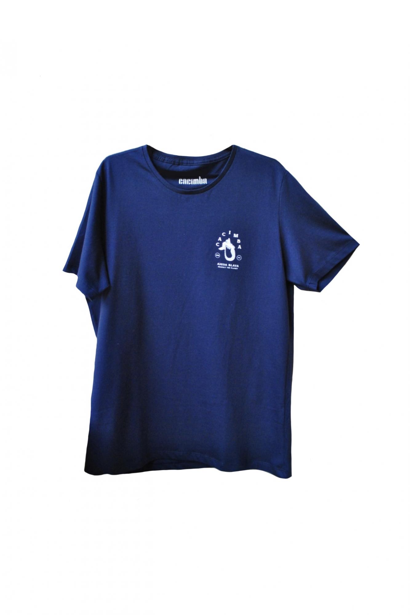Camiseta Cacimba Sereia Azul - Algodão Orgânico