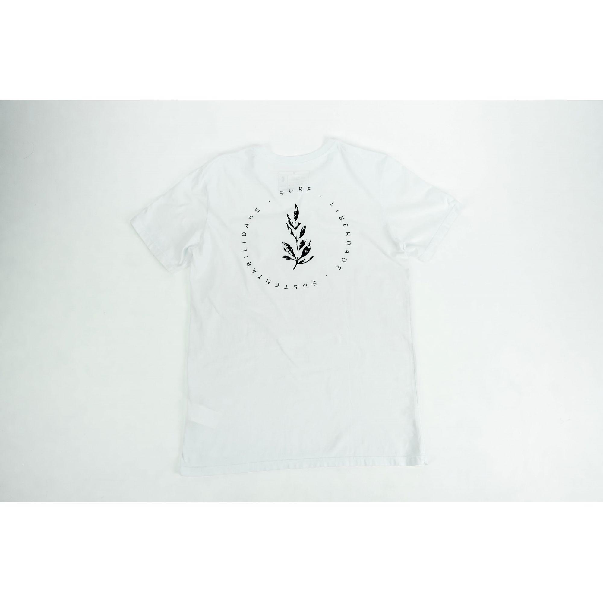 Camiseta Surf, Liberdade e Sustentabilidade