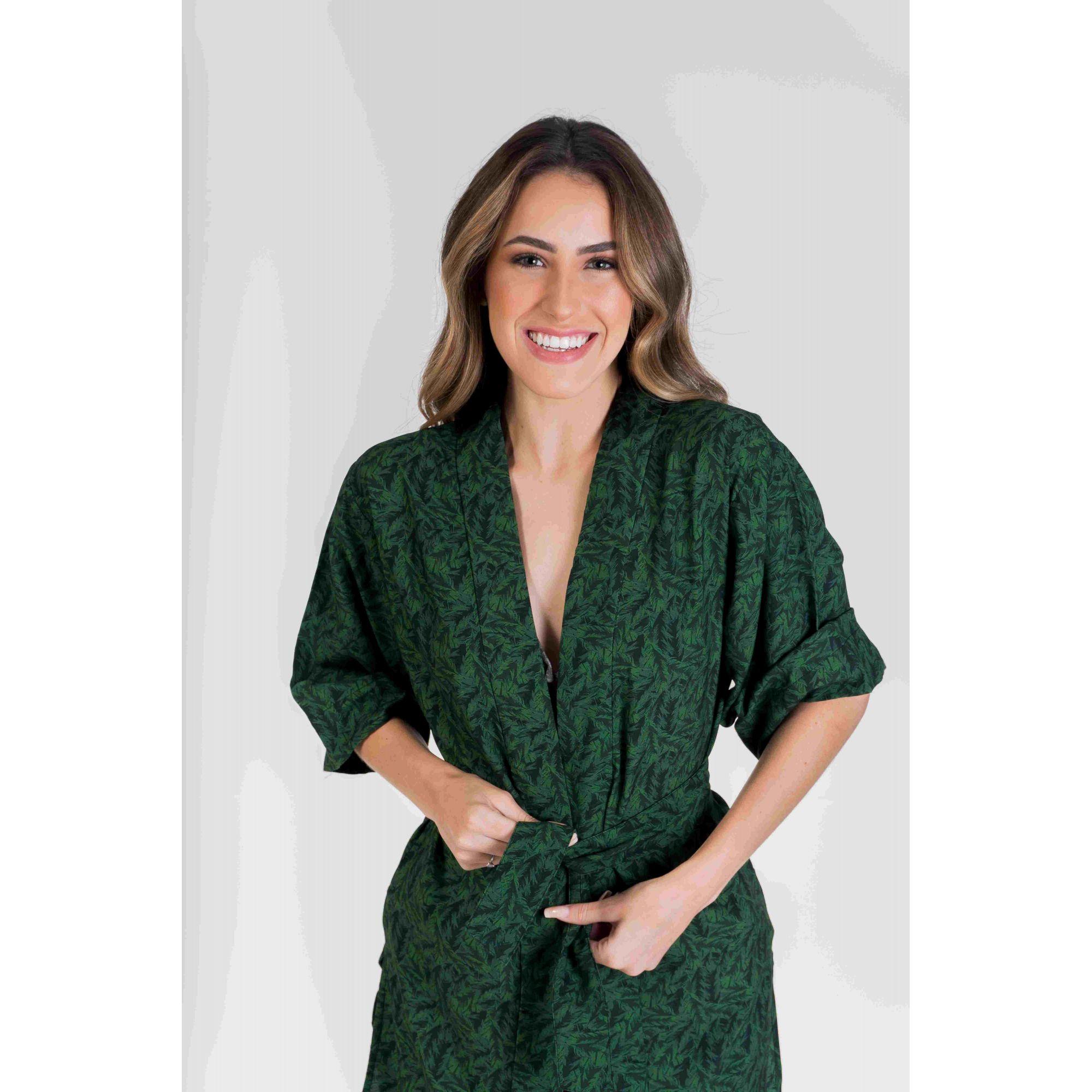 Kimono Floresta Brasileira