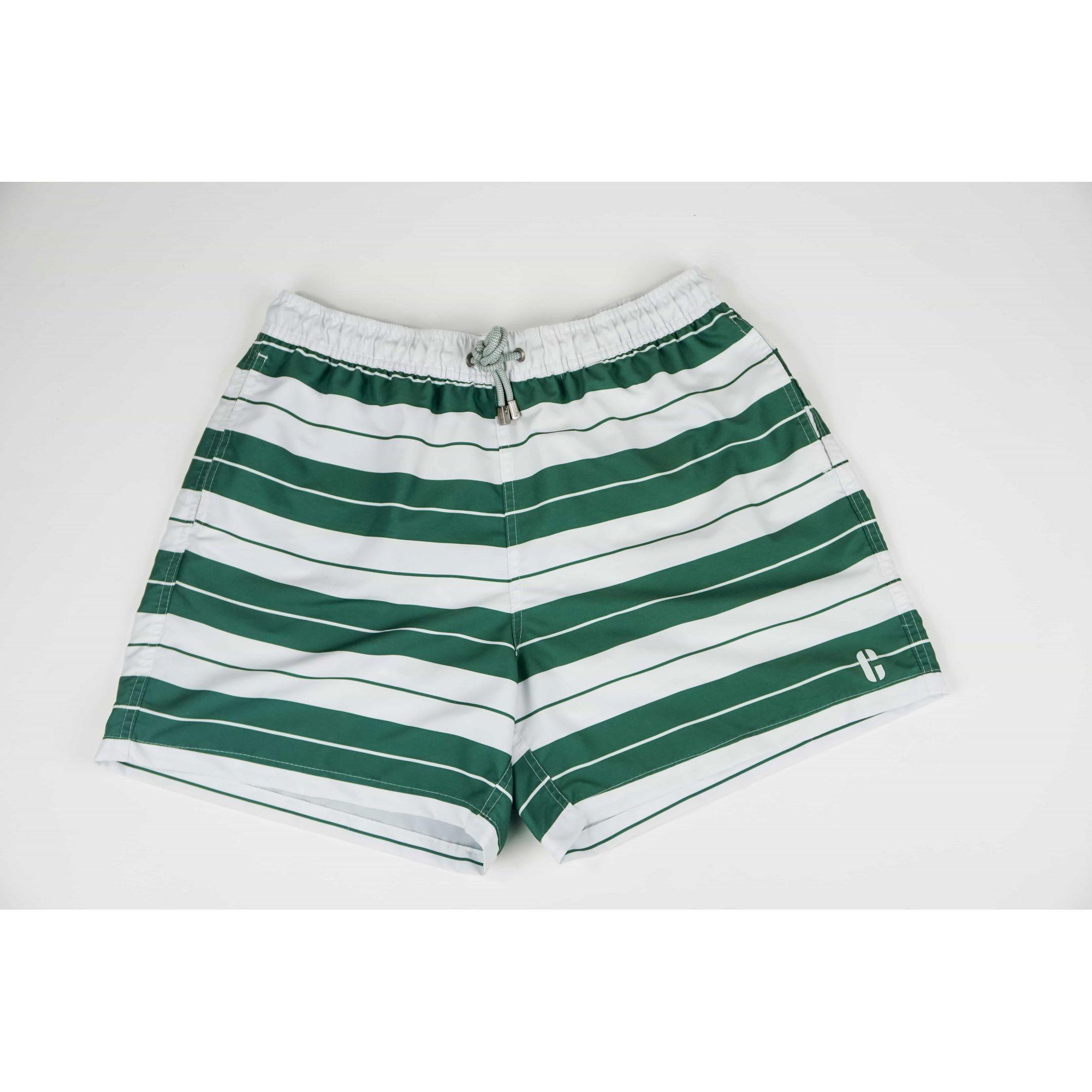 Shorts Listrado Vintage
