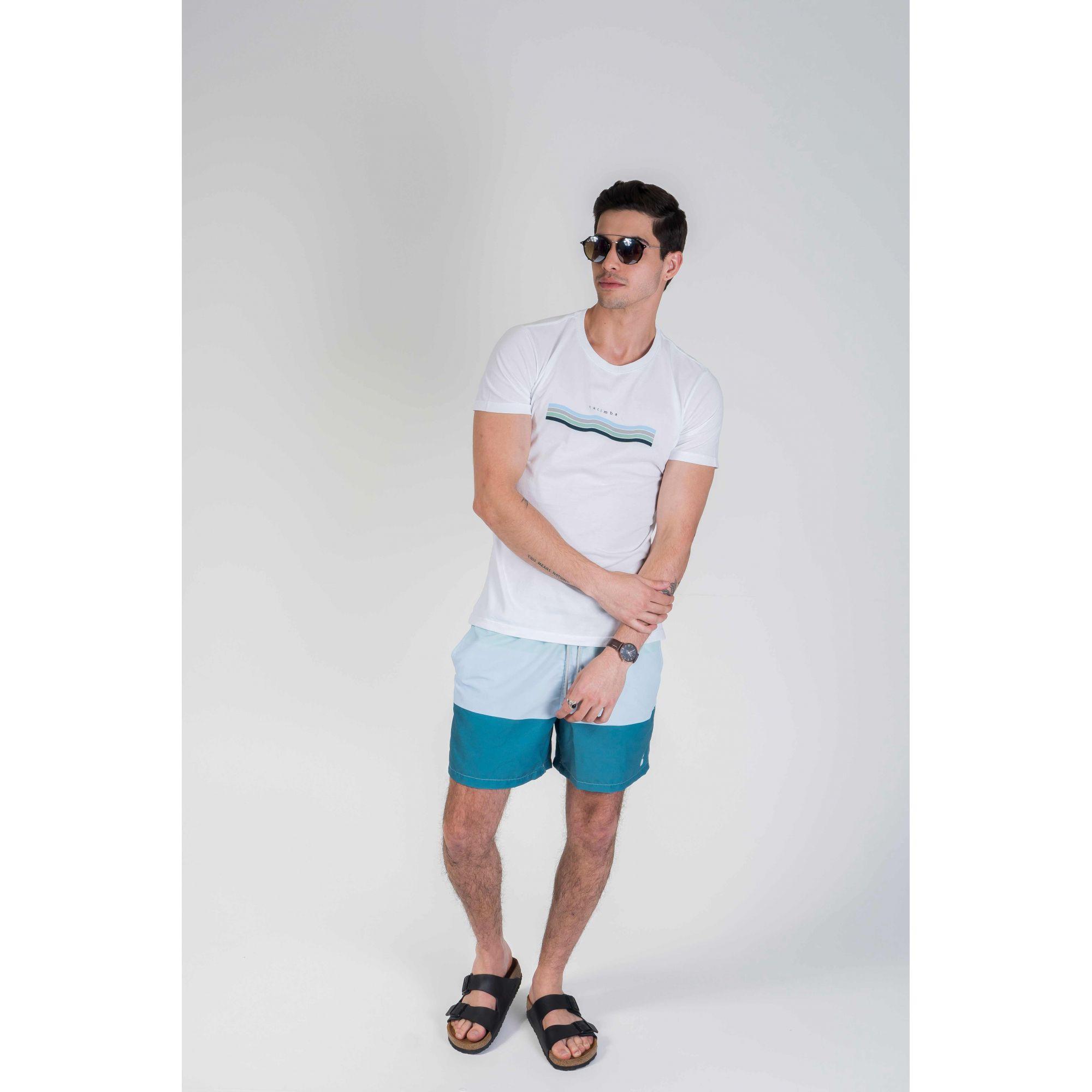 Shorts Tons Águas Brasileiras