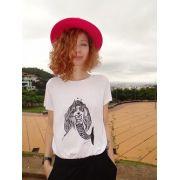 Camiseta sereia branca