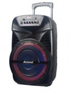 Caixa de som Amplificada Amvox 380W RMS