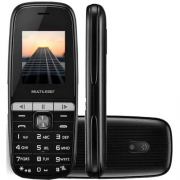 Celular Simples Multilaser Up Play Mp3 Dual Chip Preto