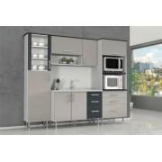 Cozinha Compacta Cellmobile com 7 Portas e 6 Gavetas