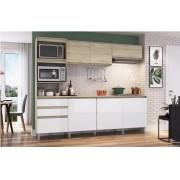 Cozinha Compacta Decibal Alecrim com 7 Portas e 2 Gavetas