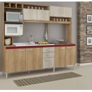 Cozinha Compacta Helen com 8 Portas e 2 Gavetas