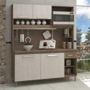 Cozinha Compacta Izadora com 4 Portas e 1 Gaveta