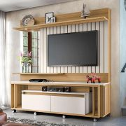 Home Theater Eclipse  Off White - HB Móveis