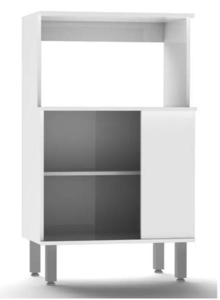 Balcão Forno e Micro Jaeli 1P Branco