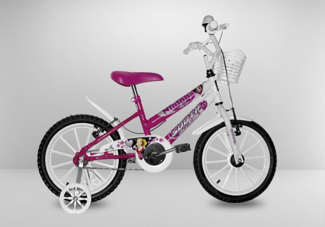 Bicicleta Bicicenter Aro 16 Rosa