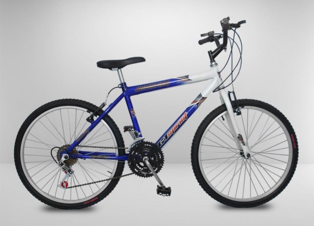 Bicicleta Bicicenter Aro 26 Azul 18 Marchas
