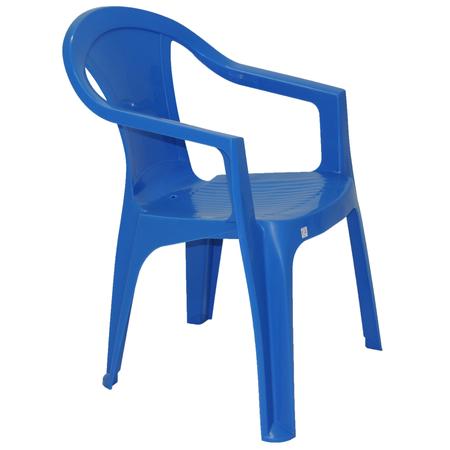 Cadeira Plástico Azul Plastable