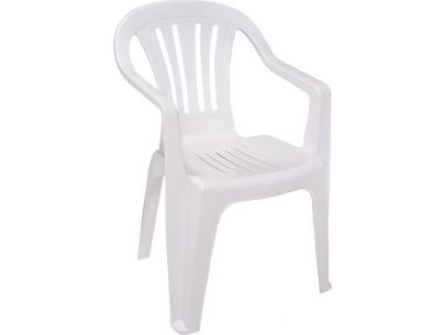 Cadeira Plástico Branca Plastable