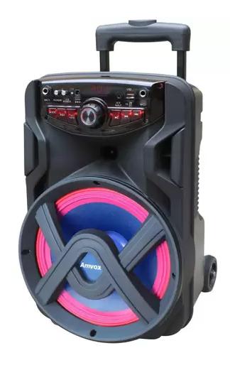 Caixa de som Amplificada Amvox 250W RMS