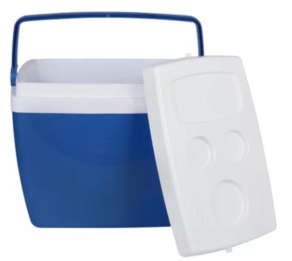Caixa Termica Mor 34L Azul