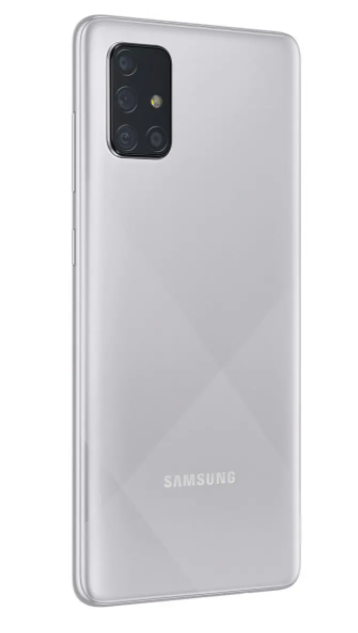 Celular Samsung A71 128GB Cinza Bivolt